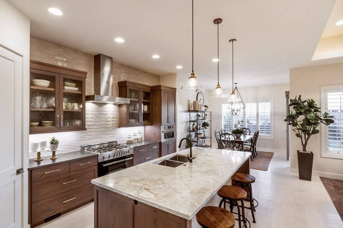 Desert Color Kitchen Granite