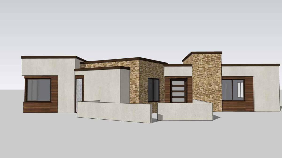 Desert Color Holmes Homes Sapphire 3D Rendering Model