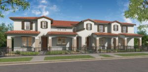 Desert Color Holmes Homes Bay Towns Boulevard 3D Rendering Model Multi Unit