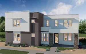 Desert Color Holmes Homes Mews Sunburst 3D Rendering Model
