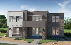 Desert Color Holmes Homes Mews Verona 3D Rendering Model